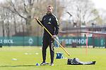 11.04.2018, Trainingsgelaende, Bremen, GER, 1.FBL, Training SV Werder Bremen<br /> <br /> im Bild<br /> Florian Kohfeldt (Trainer SV Werder Bremen), <br /> <br /> Foto &copy; nordphoto / Ewert