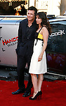 "Actor Jason Bateman and wife actress Amanda Anka arrive to The World Premiere of Columbia Pictures' ""Hancock"" at the Grauman's Chinese Theatre on June 30, 2008 in Hollywood, California."