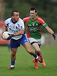 Glen Emmets Tom Grimes Lannleire Darren Noone. Photo: Colin Bell/Pressphotos.ie