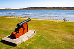 Old Cannon In Port Stanley, Falkland Islands
