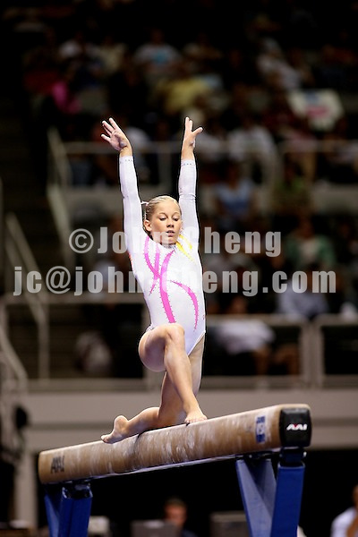 Photo by John Cheng - VISA Championships 2007 in San Jose, CA.Shawn Johnson