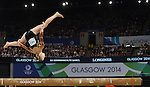 Wales' Georgina Hockenhull during her performance in the women's gymnastics artistic balance beam final<br /> <br /> Photographer Chris Vaughan/Sportingwales<br /> <br /> 20th Commonwealth Games - Day 9 - Friday 1st August 2014 - Gymnastics - SECC - Glasgow - UK