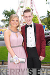 Having fun at the Causeway Comprehensive Debs on Thursday at The Brandon Hotel were  Louise Thornton and J.J. Lee