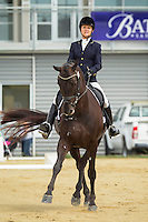 NZL-Julie Brougham (FURST FELLINI) 2ND-Hatton Horsefloats North Island Challenge: 2015 NZL-Bates NZ Dressage Championships, Manfeild Park - Feilding (Thursday 5 March) CREDIT: Libby Law COPYRIGHT: LIBBY LAW PHOTOGRAPHY