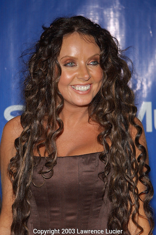 NEW YORK-FEBRUARY 23:  Recording artist Sarah Brightman appears at the Sony Post-Grammy party February 23, 2003, at the Hammerstein Ballroom in New York City.