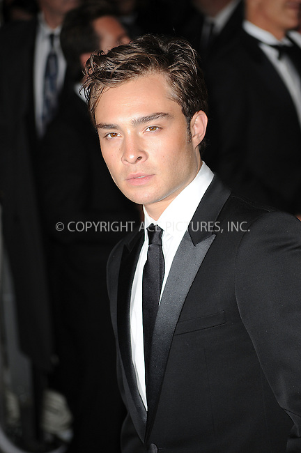 WWW.ACEPIXS.COM . . . . . ....May 4 2009, New York City....Actor Ed Westwick arriving at 'The Model as Muse: Embodying Fashion' Costume Institute Gala at The Metropolitan Museum of Art on May 4, 2009 in New York City.....Please byline: KRISTIN CALLAHAN - ACEPIXS.COM.. . . . . . ..Ace Pictures, Inc:  ..tel: (212) 243 8787 or (646) 769 0430..e-mail: info@acepixs.com..web: http://www.acepixs.com