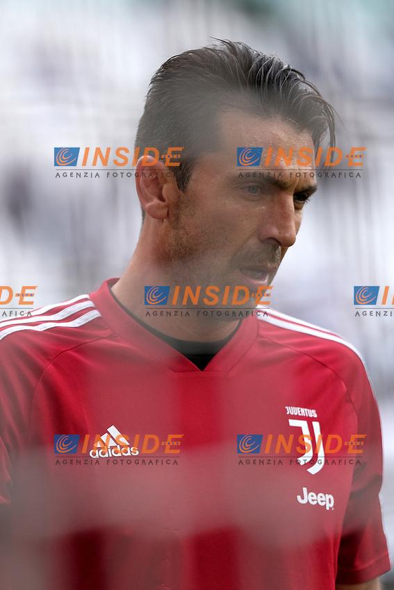 Gianluigi Buffon of Juventus looks on <br /> Torino 28/09/2019 Allianz Stadium <br /> Football Serie A 2019/2020 <br /> Juventus FC - SPAL <br /> Photo OnePlusNine / Insidefoto