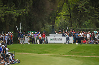Paul Casey (GBR) watches his tee shot on 17 during round 4 of the World Golf Championships, Mexico, Club De Golf Chapultepec, Mexico City, Mexico. 2/24/2019.<br /> Picture: Golffile | Ken Murray<br /> <br /> <br /> All photo usage must carry mandatory copyright credit (© Golffile | Ken Murray)
