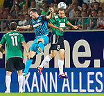 18.08.2011, Keine-Sorgen-Arena, Ried, AUT, UEFA EL, PLAYOFF, SV RIED (AUT) vs PSV EINDHOVEN (NED), Hinspiel, im Bild Erik Pieters (PSV Eindhoven, #5) vs Stefan Lexa (SV Ried, #8) // during the UEFA Europaleague, 1st Leg Playoff Match, SV Ried against PSV Eindhoven at Keine-Sorgen-Arena, Ried, Austria on 2011-08-18, EXPA Pictures © 2011, PhotoCredit: EXPA/ J. Feichter