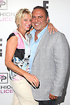 Dorinda Medley and John Mahdessian of Real Housewives of New York Attend E!'s 2016 Spring NYFW Kick Off party at The Standard, High Line, Biergarten & Garden