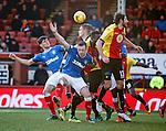 Danny Wilson and Rob Kiernan attack the ball