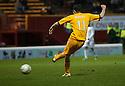 Motherwell's Jamie Murphy scores Motherwell's third goal.