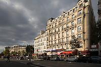 Boulevarde Montparnasse, Paris, France (opposie Gare Montparnasse) (Cinema Bretagne inside)