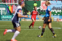 Portland, OR - Saturday September 02, 2017: Amandine Henry during a regular season National Women's Soccer League (NWSL) match between the Portland Thorns FC and the Washington Spirit at Providence Park.