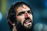 Sam Whitelock after the 2017 DHL Lions Series rugby union 3rd test match between the NZ All Blacks and British & Irish Lions at Eden Park in Auckland, New Zealand on Saturday, 8 July 2017. Photo: Dave Lintott / lintottphoto.co.nz