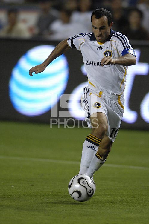 Los Angeles Galaxy Landon Donovan (10) during the SuperLiga finals between the Los Angeles Galaxy of MLS and CF Pachuca of FMF at the Home Depot Center, Carson, CA, on August 29, 2007. Pachuca wins 4-3 on penalty kicks after the game finished in a 1-1 tie.