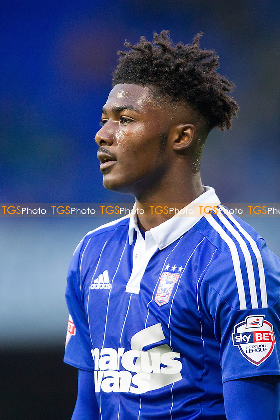 Ainsley Maitland-Niles of Ipswich Town during Ipswich Town vs Huddersfield Town, Sky Bet Championship Football at Portman Road, Ipswich, England on 17/10/2015