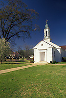 church, Selma, Alabama, AL, Chapel at the United Methodist Children's Home in Selma in the spring.