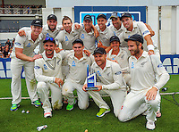 150107 International Test Cricket - NZ Black Caps v Sri Lanka