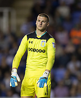 Goalkeeper Sam Johnstone (on loan for Manchester United) of Aston Villa during the Sky Bet Championship match between Reading and Aston Villa at the Madejski Stadium, Reading, England on 15 August 2017. Photo by Andy Rowland / PRiME Media Images.