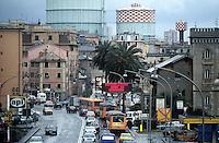 - Genoa, ILVA steel factory....- Genova, acciaieria ILVA