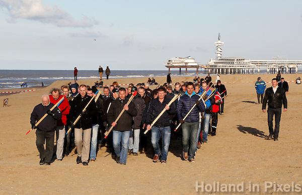 Generale repetitie van de  historische Landing van Prins Wilem I  in Scheveningen ( 1813- 2013)
