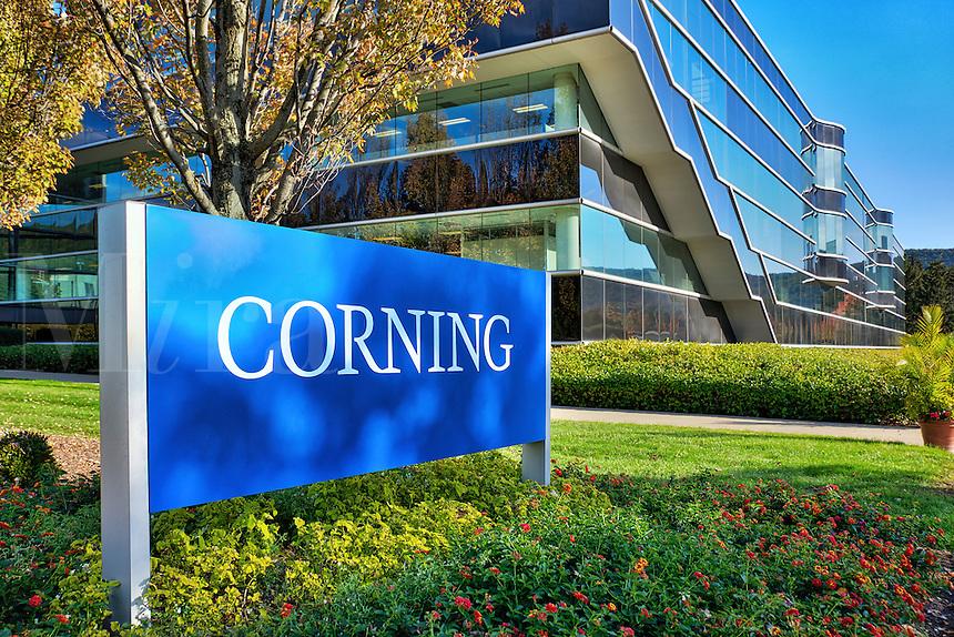 Corning Inc. Headquarters, Steuben County, New York, USA