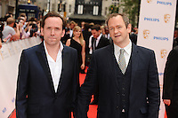 Alexander Armstrong (right) and Ben Miller arriving for the BAFTA Television Awards 2010 at the London Palladium. 06/06/2010  Picture by: Steve Vas / Featureflash