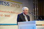 26.2.2015. ZWST JUgendkongress 2015, Berlin Hotel Leonardo Royal. Dr. Josef Schuster <br /> Pr&auml;sident des Zentralrats der Juden in Deutschland