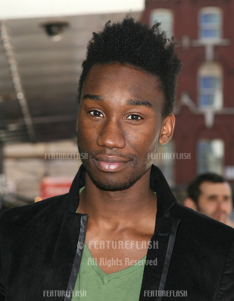 Nathan Stewart Jarrett arriving for the First Light Movie Awards 2010, Odeon Leicester Square, London. 02/01/2010  Picture by: Alexandra Glen / Featureflash