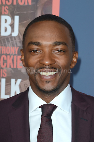 HOLLYWOOD, CA - MAY 10: Anthony Mackie at the 'All The Way' Los Angeles Premiere at Paramount Studios on May 10, 2016 in Hollywood, California. Credit David Edwards/MediaPunch