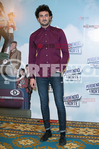 "Miki Esparbe attend the ""Perdiendo El Norte"" Movie Presentation at Intercontinental Hotel, Madrid,  Spain. March 03, 2015.(ALTERPHOTOS/)Carlos Dafonte) /NORTEphoto.com"