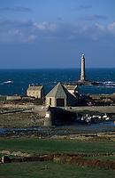 Europe/France/Normandie/Basse-Normandie/50/Manche/Presqu'île de la Hague: Le port de Goury et le phare