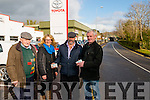 Danny Healy Rae team canvasing in Killarney last Thursday. Pictured L-R Timothy O'Sullivan, Sinead Kelleher, Danny Healy Rae and Ruaidhri O'Sullivan.