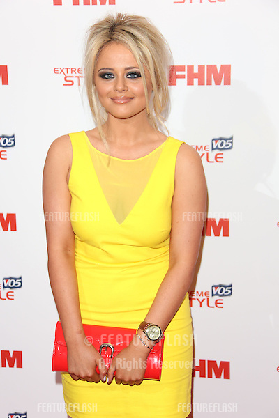 Emily Atack arriving for the FHM 100 Sexiest Women in the World 2013 party at the Sanderson Hotel, London. 01/05/2013 Picture by: Henry Harris / Featureflash