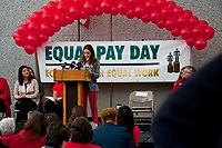 Equal Pay Day Rally Chicago Illinois 4-10-18