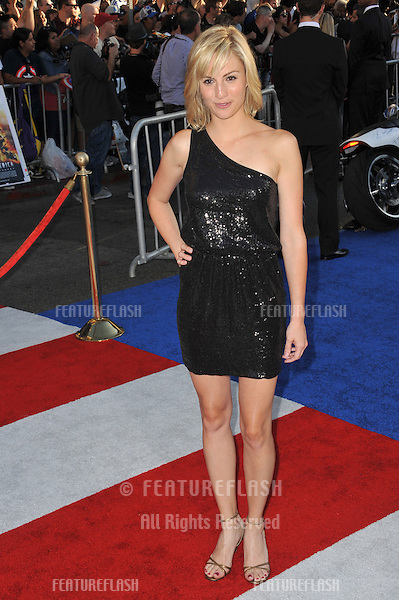"Alison Haislip at the premiere of ""Captain America: The First Avenger"" at the El Capitan Theatre, Hollywood..July 19, 2011  Los Angeles, CA.Picture: Paul Smith / Featureflash"