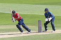Ravi Bopara in batting action for Essex as Sam Billings looks on from behind the stumps during Essex Eagles vs Kent Spitfires, Royal London One-Day Cup Cricket at The Cloudfm County Ground on 6th June 2018