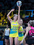 28/10/17 Fast5 2017<br /> Fast 5 Netball World Series<br /> Hisense Arena Melbourne<br /> Australia v New Zealand<br /> <br /> Kaylia Stanton<br /> <br /> <br /> <br /> Photo: Grant Treeby