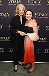Daryl Roth and Tovah Feldshuh attends the Off-Broadway Opening Night arrivals for 'Vitaly: An Evening of Wonders' at the Westside Theatre on June 20, 2018 in New York City.
