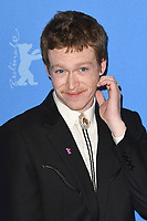 BERLIN, GERMANY - FEBRUARY 7: American actor Caleb Landry Jones attends the 69th Berlinale International Film Festival Berlin photocall for The Kindness Of Strangers at the Grand Hyatt Hotel on February 7, 2018 in Berlin, Germany.<br /> CAP/BEL<br /> &copy;BEL/Capital Pictures