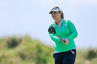Kelsey Coey (Clandeboye) during the second round of the Irish Womans Open Strokeplay Championship, Co Louth Golf Club, Baltray, Drogheda, Co Louth, Ireland. 12/05/2018.<br /> Picture: Golffile | Fran Caffrey<br /> <br /> <br /> All photo usage must carry mandatory copyright credit (&copy; Golffile | Fran Caffrey)