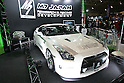 Jan 15, 2010 - Chiba, Japan - A customized Nissan R35GTR is displayed during the Tokyo Auto Salon 2010 in Chiba, suburb Tokyo, on January 15, 2010. More than 400 companies, associations and groups are displaying more than 600 custom vehicules in the Japan's biggest tuning show which takes place between January 15 and 17. (Photo Laurent Benchana/Nippon News)