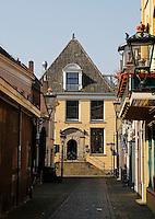 Steegje in het centrum van Kampen
