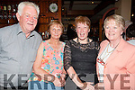 SUPPORTING: Supporting the Duggan Family Fire Appeal Fundraising Dance in the White Sands Hotel,Ballyheigue on Saturday night l-r: Jack and Liz O'Carroll (Ballyduff), Margaret Browne and Kathleen Coyne (Lixnaw).
