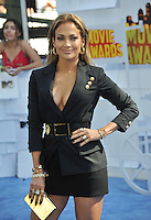 Jennifer Lopez at the 2015 MTV Movie Awards at the Nokia Theatre LA Live.<br /> April 12, 2015  Los Angeles, CA<br /> Picture: Paul Smith / Featureflash