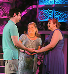 "Guiding Light's Kim Zimmer stars with Molly Tower and Kevin Toniazzo-Naughtonl in ""It Shoulda Been You"" - a new musical comedy - at the Gretna Theatre, Mt. Gretna, PA on July 30, 2016. (Photo by Sue Coflin/Max Photos)"