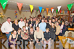 Pat and Ann Maher, Milltown pictured with their daughters Lisa and Elaine, family and friends as they celebrated their 25th wedding anniversary in the Killorglin Golf Club on Saturday night.....   Copyright Kerry's Eye 2008