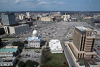 1993 April 02..Redevelopment..Macarthur Center.Downtown North (R-8)..LOOKING NORTH FROM CRESTAR BUILDING...NEG#.NRHA#..