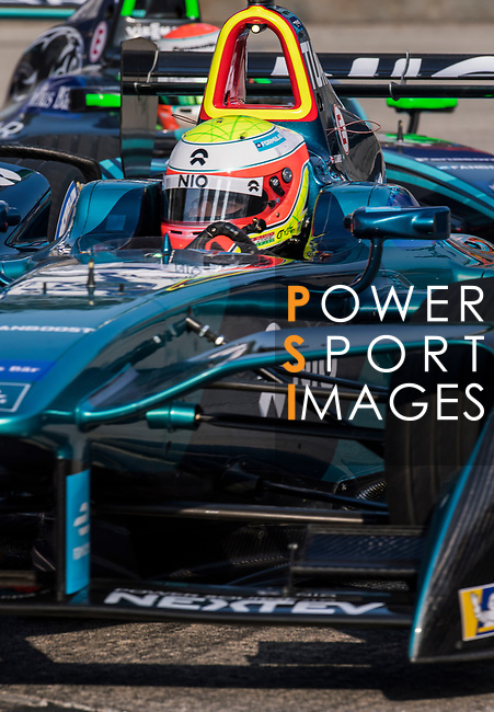 Oliver Turvey of Great Britain from NIO Formula E Team competes during the FIA Formula E Hong Kong E-Prix Round 2 at the Central Harbourfront Circuit on 03 December 2017 in Hong Kong, Hong Kong. Photo by Victor Fraile / Power Sport Images